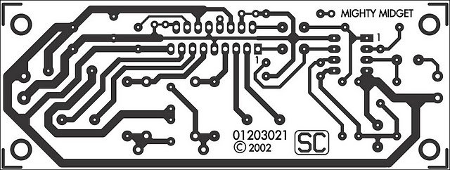 Основа микросхемы TDA1562Q IC